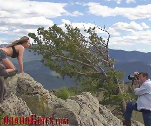 Igazi colorado lány roxy rox fucks egy hegy tetején